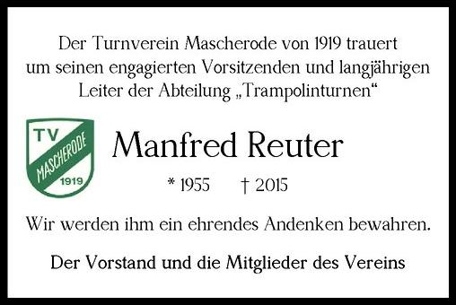 Traueranzeige_Manfred_Reuter